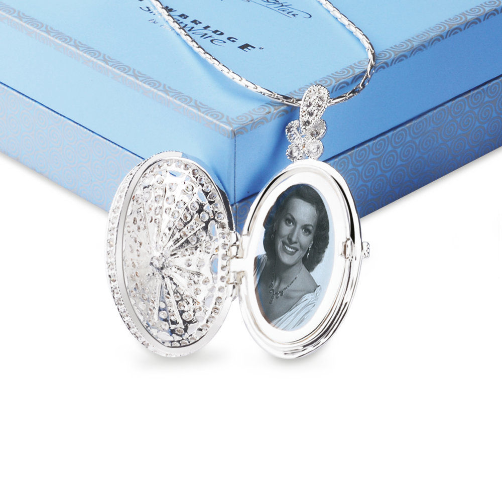 and en cz crystal lockets pandora clear floating glass locket sapphire