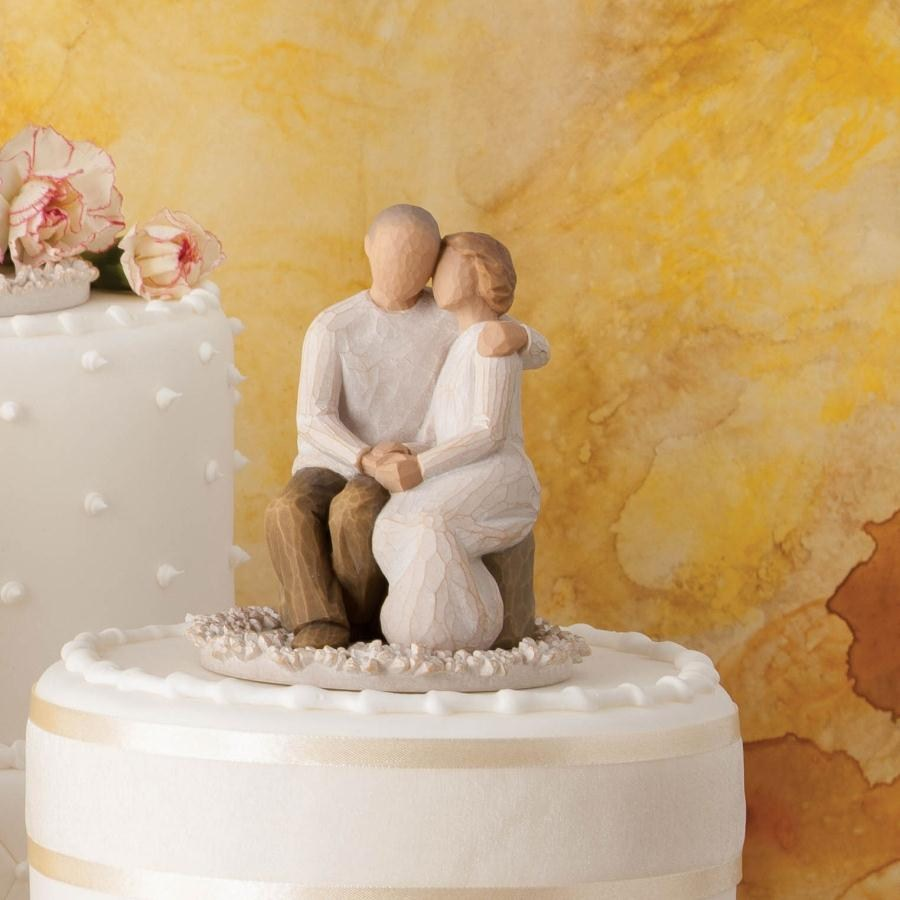 willow tree anniversary cake topper figurine mcparlands