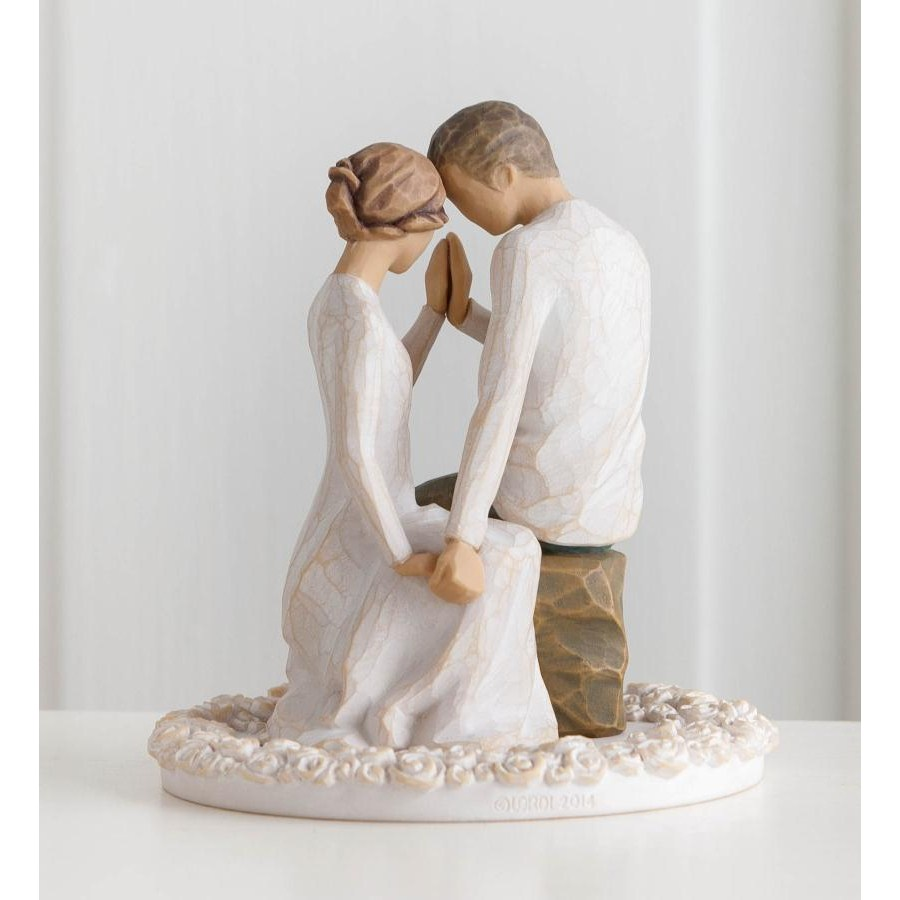 Willow Tree Around You Cake Topper Figurine