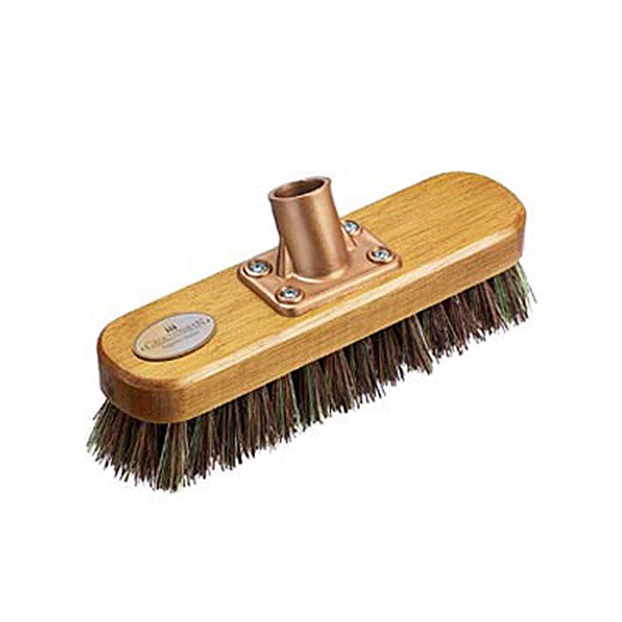 Groundsman 9-Inch Deck Scrubbing Brush Push On Head