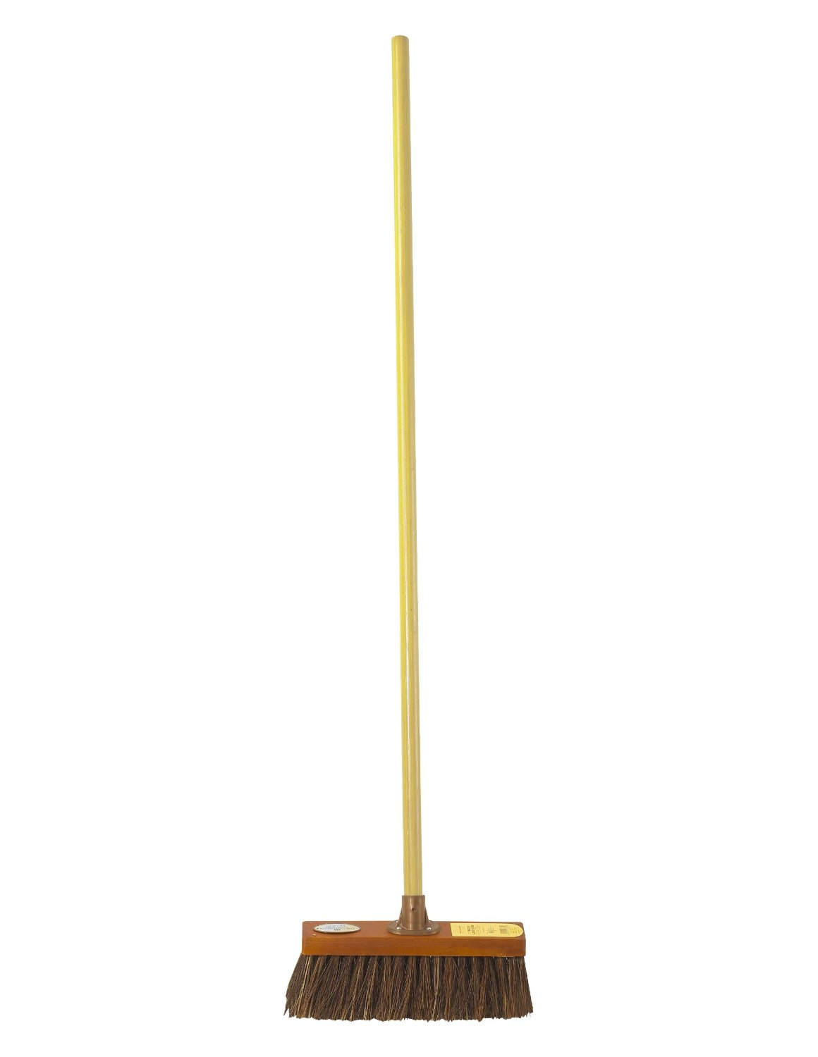 Groundsman 12-Inch Bassine Broom with Handle