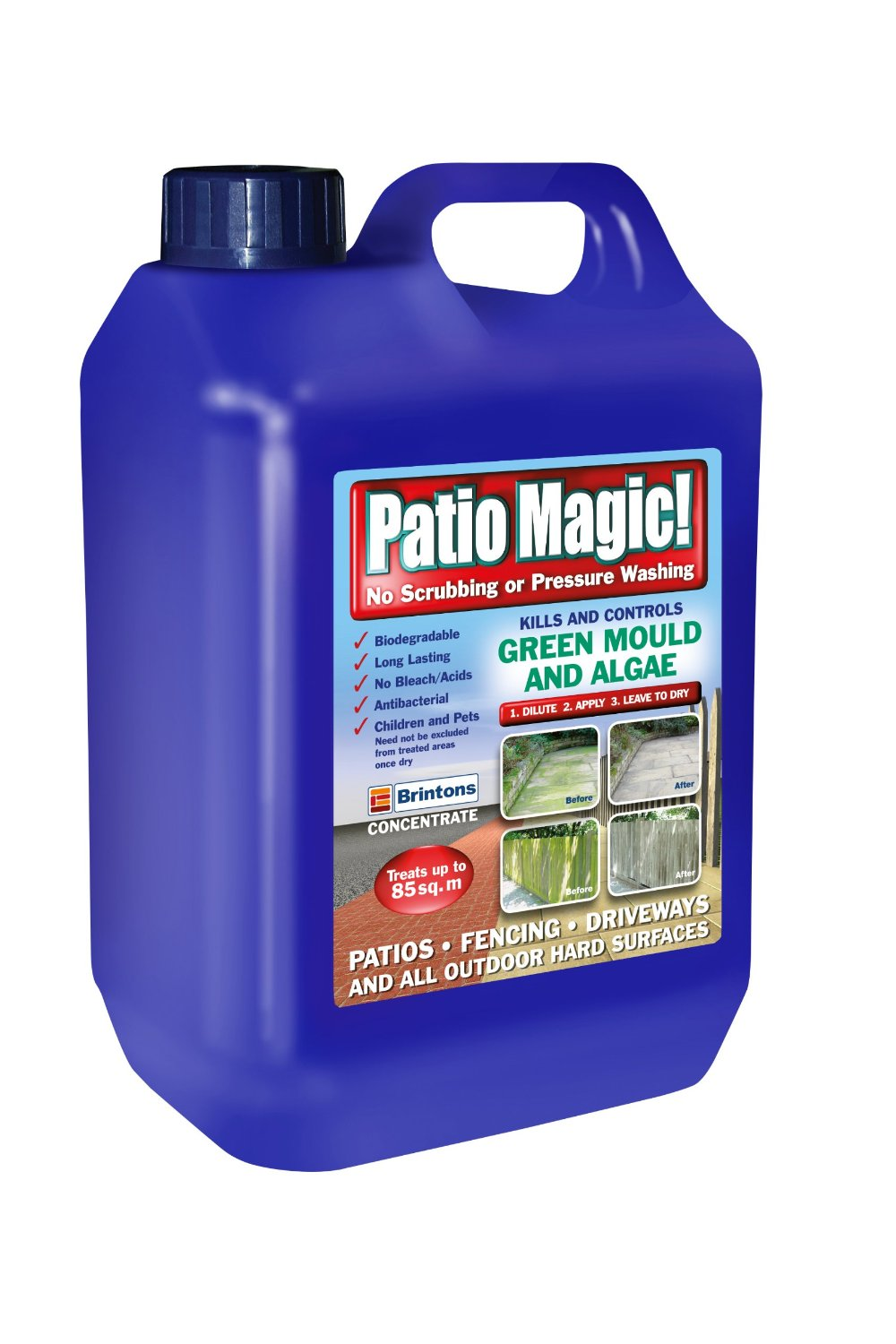 Patio Magic 2.5 Litres Liquid Concentrate