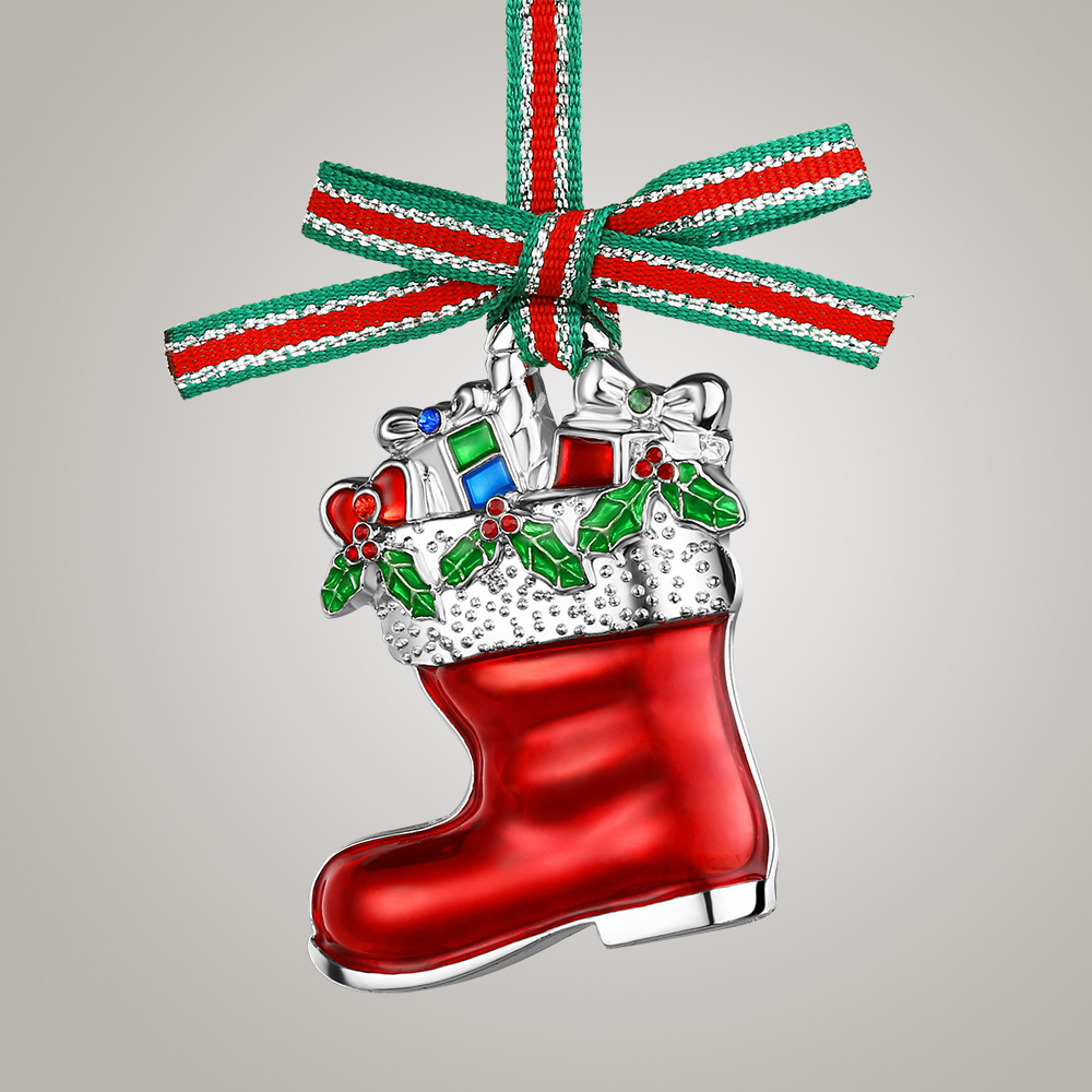 Newbridge Silverware Christmas Boot with Presents -WY803