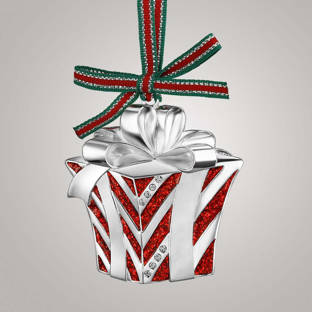 Newbridge Silverware Christmas Box with Bow - WY804
