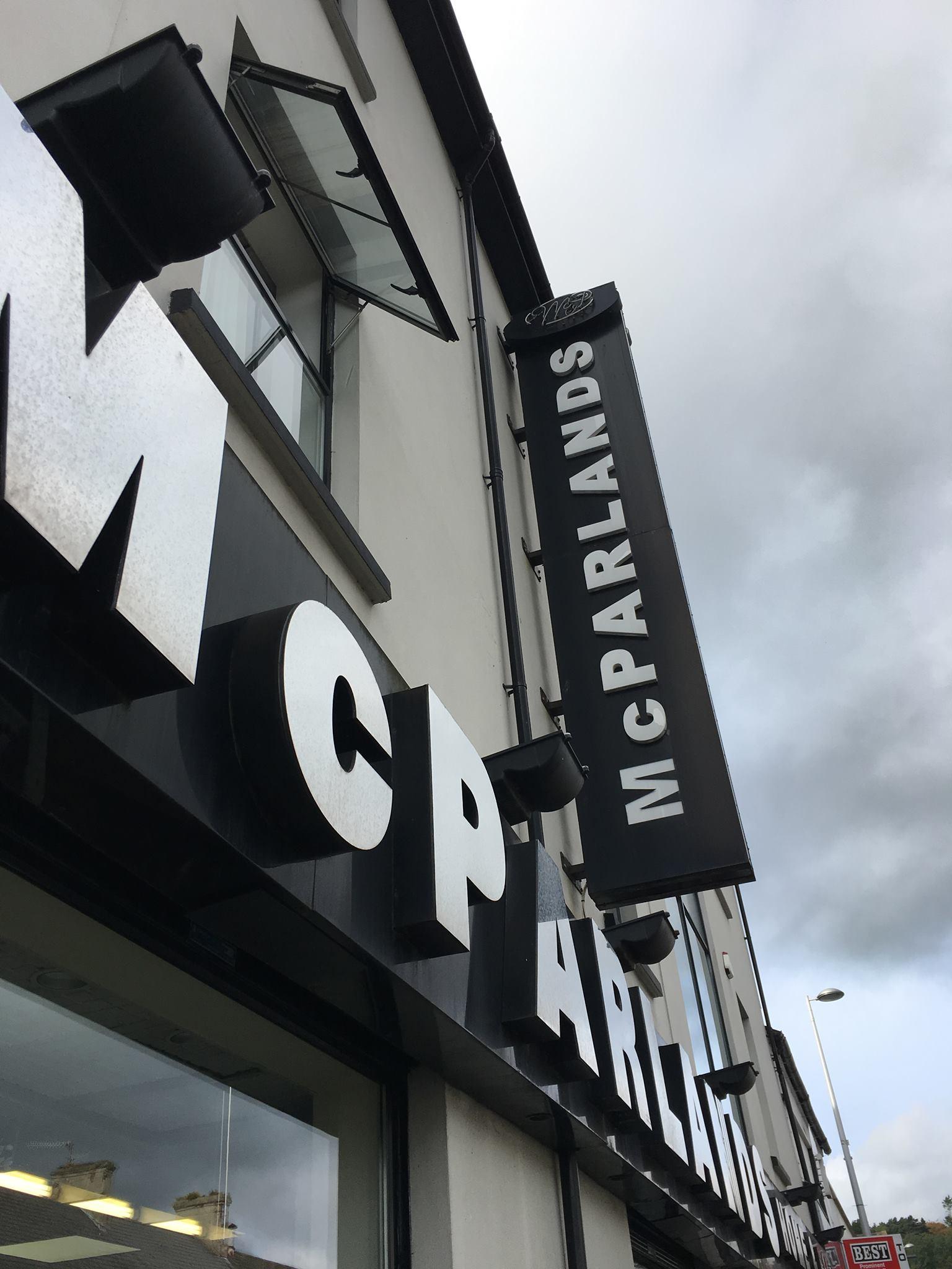 McParlands Shop Sign