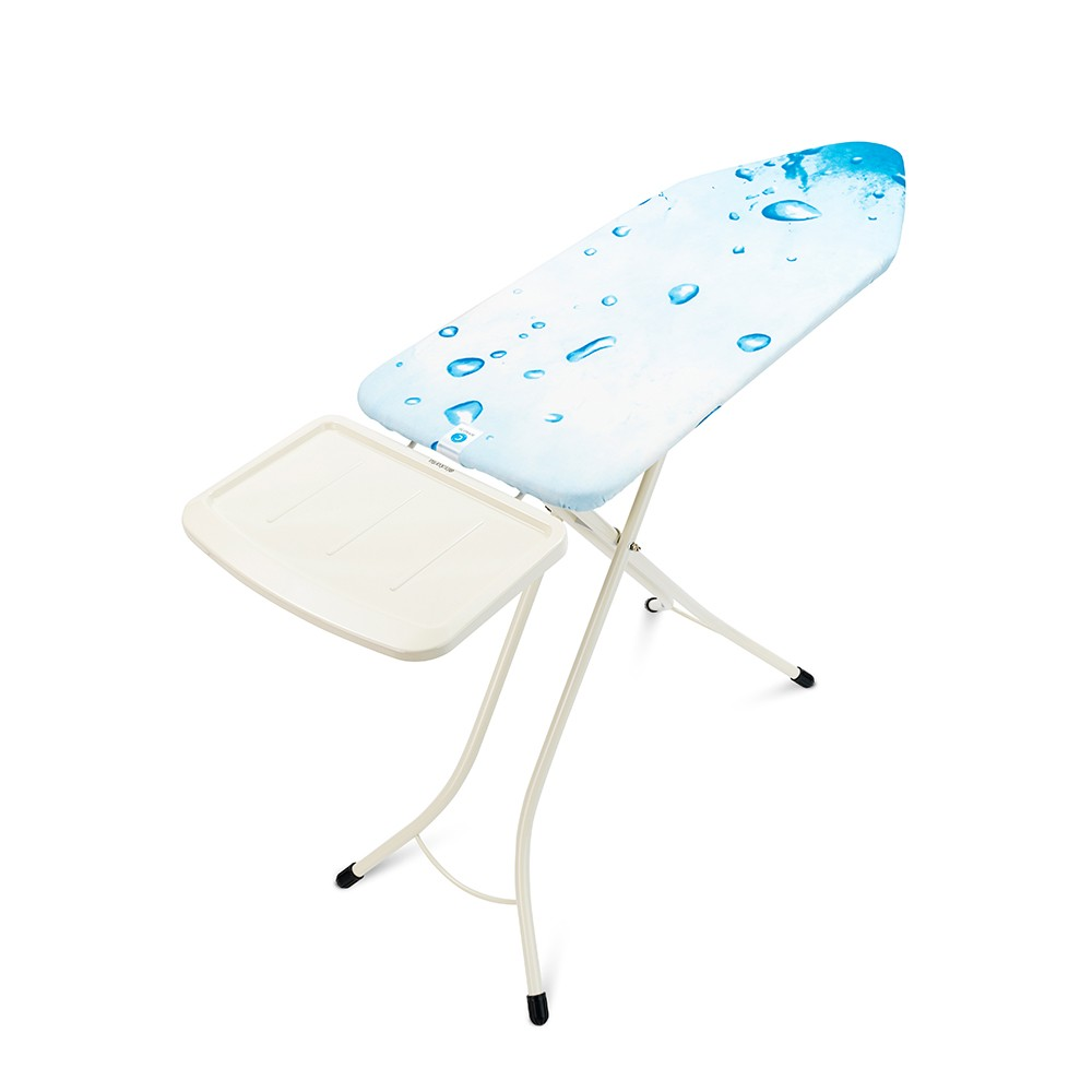 Brabantia Size C Ironing Board with Solid Steam Unit Holder - Ice water Cover - 3
