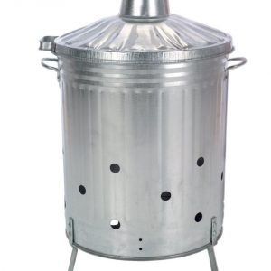 Gardman Galvanised Dustbin Incinerator