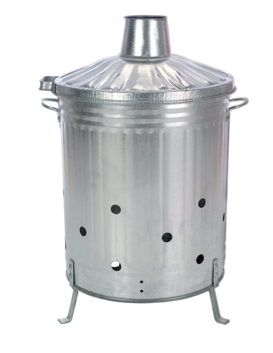 Gardman Galvanised Dustbin Incinerator