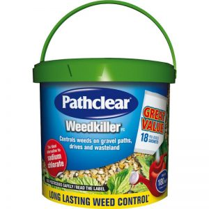 Pathclear Weedkiller + Preventer 18 Sachets Granular Concentrate Weedkiller Tub
