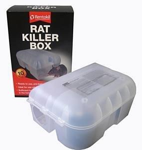 Rat Killer Box Pre-baited