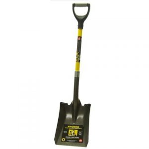 Roughneck Square Shovel 36 inch D Handle