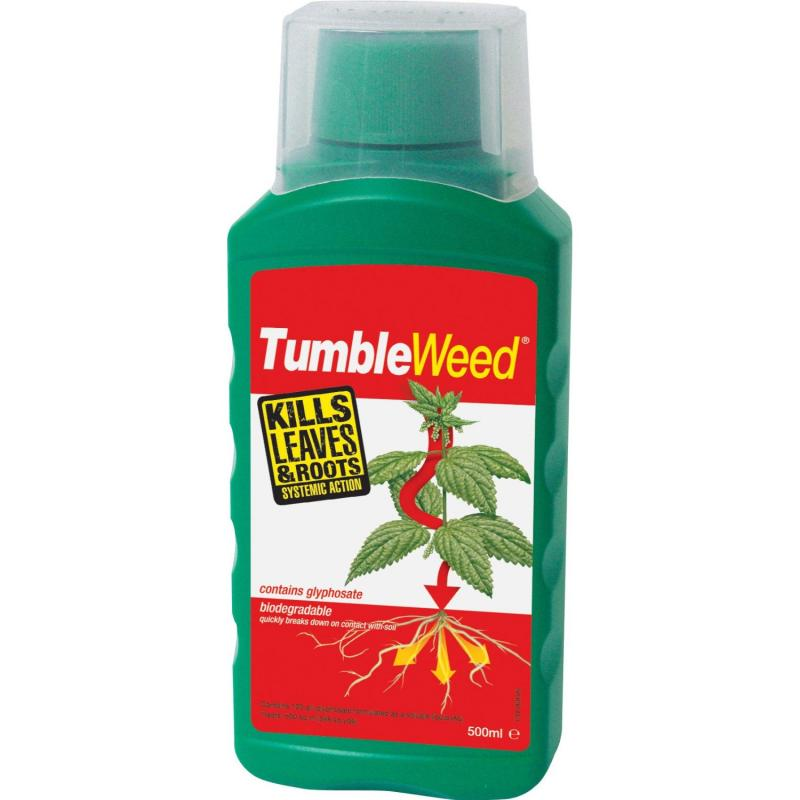 TumbleWeed Glyphosate 500 ml Liquid Concentrate Weedkiller