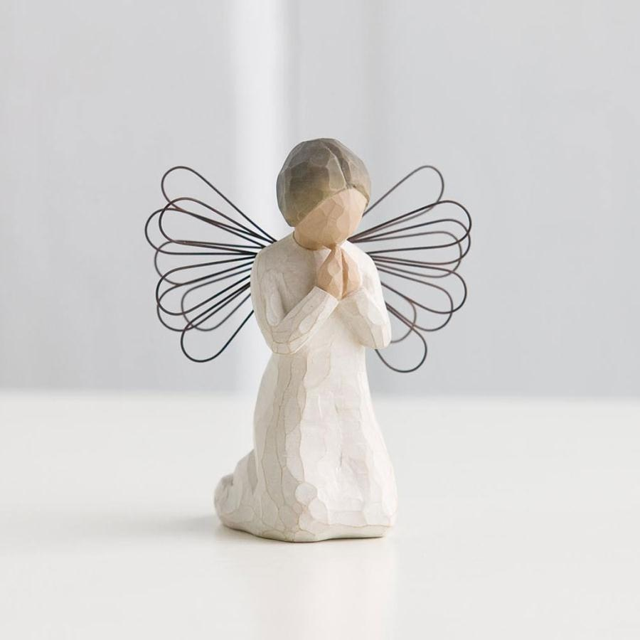 willow tree angel of prayer mcparlands. Black Bedroom Furniture Sets. Home Design Ideas