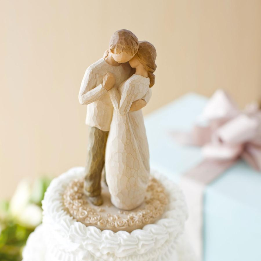Willow Cake Topper Promise