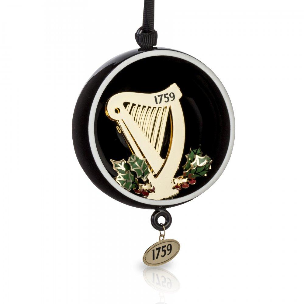 Guinness Open Globe Harp Decoration