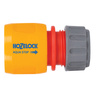 Hozelock AquaStop Connector 12.5mm and 15mm 2185