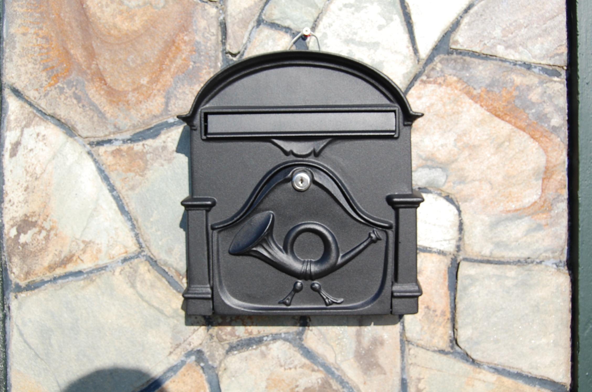 Paprika Design The AL Cast Aluminium Post Box