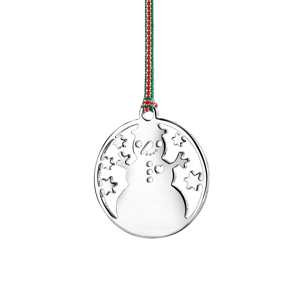 newbridge silverware snowman hanging decoration